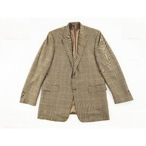 Hickey Freeman Silk Wool Cashmere Blend Blazer